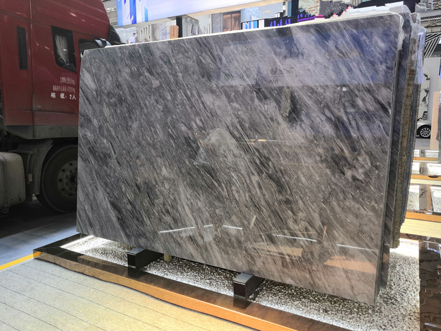 Florence Grey Marble Slabs