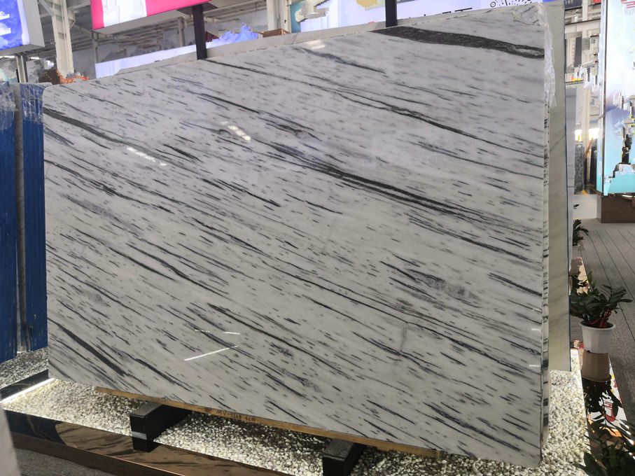 Galaxy White Marble Slabs