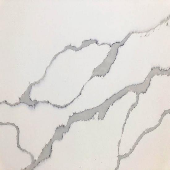 New Calacatta White Quartz