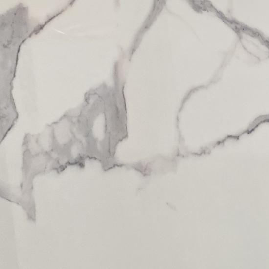 White calacatta artificial marble